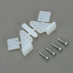 Guignols symétriques 19mm + vis (2) Dubro S133107