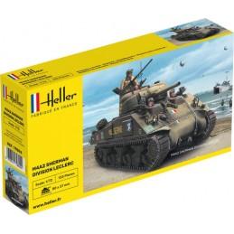 "Char M4A2 Sherman ""Division Leclerc"" 1/72 Heller 79894"