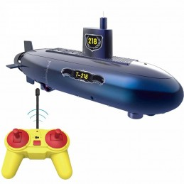 Radio-controlled submarine...