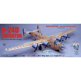 B-24D Liberator 1m23 Guillow's