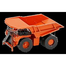 Tombereau, camion minier Caterpillar orange Metal Earth MMS182