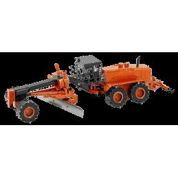 Niveleuse orange Metal Earth MMS184