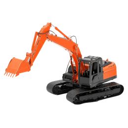 Metal Earth Orange Shovel