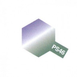 Bombe Lexan violet/vert PS-46 Tamiya