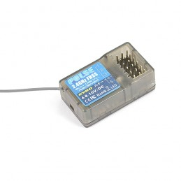 Récepteur Pulse FHSS avec GYRO pour EX6G 2.4Ghz 6Ch Etronix ET1162G
