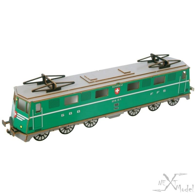 Locomotive SBB Ae 6/6 vert 3D-Model Siva