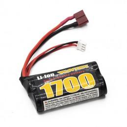 Batterie Li-Ion 7.4V 1700mAh (Dean) STX Funtek FTX-21001