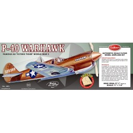 P-40 Warhawk Guillow's