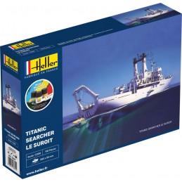 Titanic Searcher Le Suroit 1/200 Heller + colle et peintures 56615