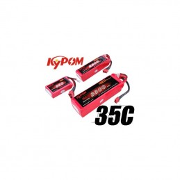 Li-Po 4200mAh 35C 3S 11,1V (Dean) Kypom