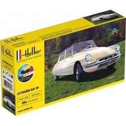 Citroen DS 19 1/43 Heller -...