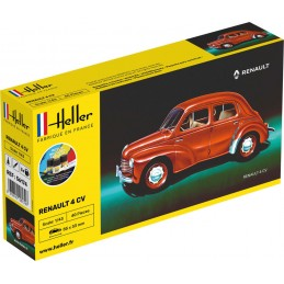 Renault 4 CV 1/43 Heller + colle et peintures 56174