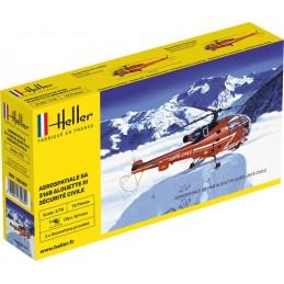 Alouette III Sécurité Civile 1/72 Heller 80289