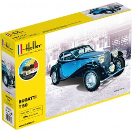 Bugatti T 50 1/24 Heller -...