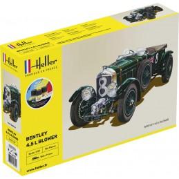 Bentley 4.5L Blower 1/24 Heller + colle et peintures 56722