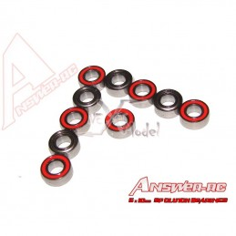 Roulements 5x13x4mm cloche ar. Losi Answer