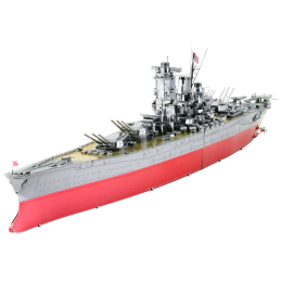Iconx bateau militaire Yamato Battleship Metal Earth ICX117