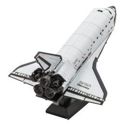 Navette Discovery NASA blanche Metal Earth MMS211