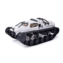 Tank Crawler White RTR 1/12