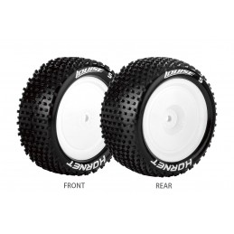 E-Hornet Tires - Rear White...