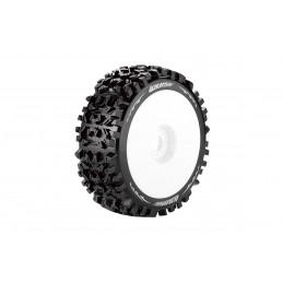 B-Pioneer Tires - White...