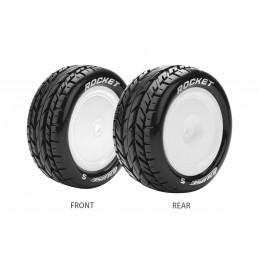 ST-Rocket Tires - White...