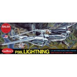 P-38 Lightning 1m Guillow's