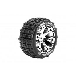 ST-Jumbo Tires - Chrome...