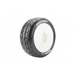 B-Rocket tires - White full...