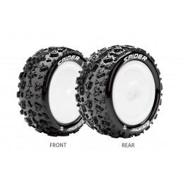 E-Spider Tires - White...