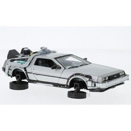 "Voiture DMC DeLorean Time Machine ""Retour  Vers Le Futur II"" version volante Welly 22441FV-GW"
