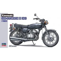 Kawasaki 500-SS/MACH III (1969) 1/12 Hasegawa 21510