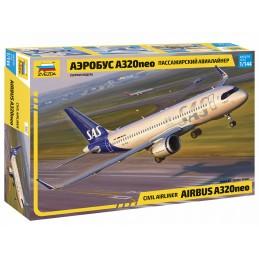Airbus A320 neo 1/144 Zvezda