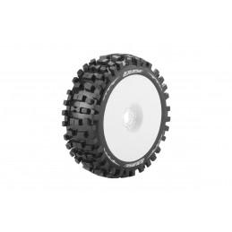 B-Ulldoze tires - White...