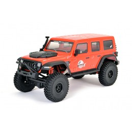 Outback Mini X Fury 2.0 Crawler 2.4Ghz Rouge 1/18 RTR FTX FTX5525R