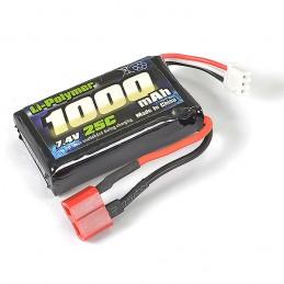 Batterie Li-Po 7.4V 1000mAh pour Tracer FTX FTX9791