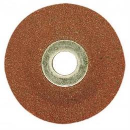 Abrasive corindon disc for...