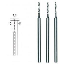 Forets HSS en acier, Ø 1.0 mm, 3 pièces Proxxon 28856