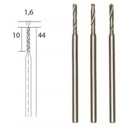 Steel HSS drills, Ø 1.6 mm,...