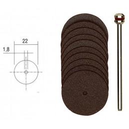 22mm (x10) corundum cutting...