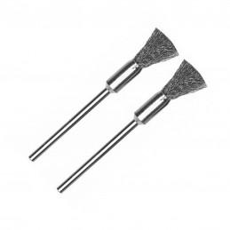 Steel brush Ø 8 mm (x2)...