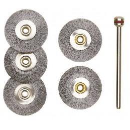 Steel disc brush Ø 22 mm...