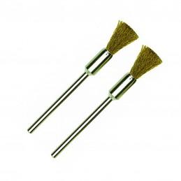 Fine brush in brass Ø 8 mm...