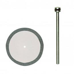Disque à tronçonner diamanté 38mm + support Proxxon 28842