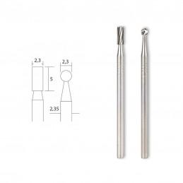 Fraises en métal dur embouts rond et cylindrique Proxxon 28750