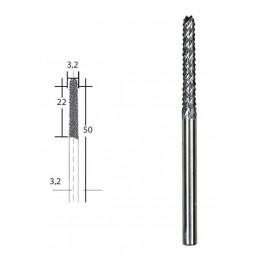 Hard metal cutter Ø 3.2mm...