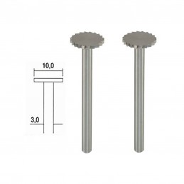 Wolfram-vanadium steel tip...