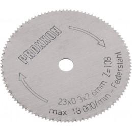 Lame de rechange pour MICRO Cutter MIC Proxxon 28652