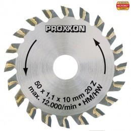 Lame de scie circulaire à plaquettes carbure 50 mm, 20 dents Proxxon 28017