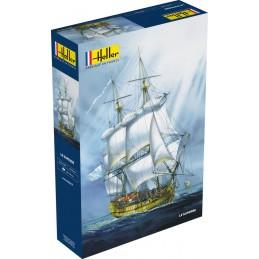 Boat Le Superbe 1/150 Heller
